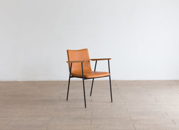 Elbow Chair (Leather Seat)
